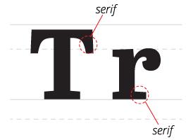typography_SERIF