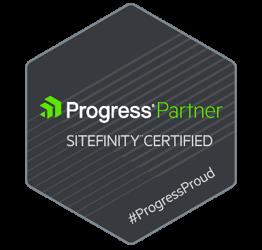 Sitefinity Progress Partner Badge